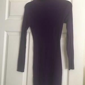 Nikibiki Dresses - Purple turtleneck dress
